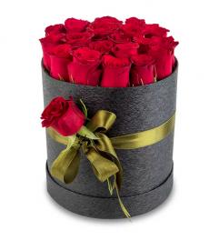 Kutuda 20 Kırmızı Güller